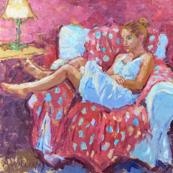 Liane day dreaming by Alice Williams